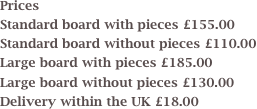 Prices 